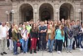 Vor dem Theater in Nürnberg