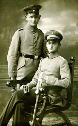 25 Zwei Soldaten Fotograf Pöltl Miesbach