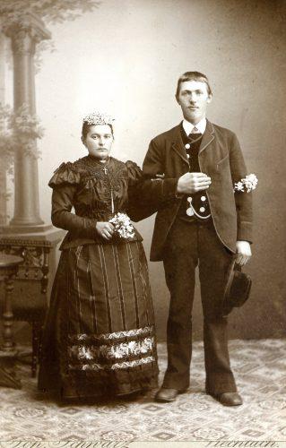 1 Brautpaar, Fotograf Schwarz Viechtach